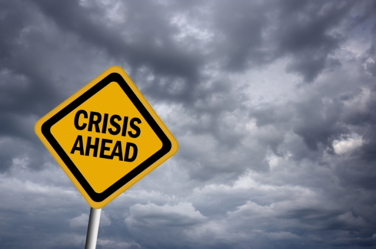 Crisis-ahead-warning-sign